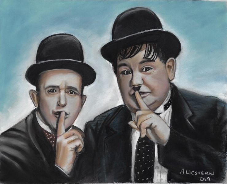 Stan Laurel, Oliver Hardy by western61